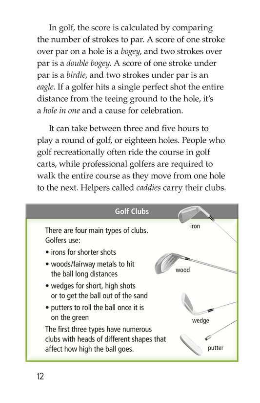Book Preview For Golf Page 12