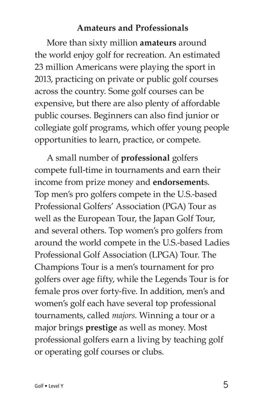 Book Preview For Golf Page 5