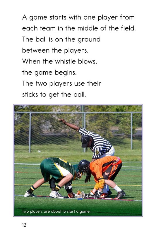 Book Preview For Lacrosse Page 12