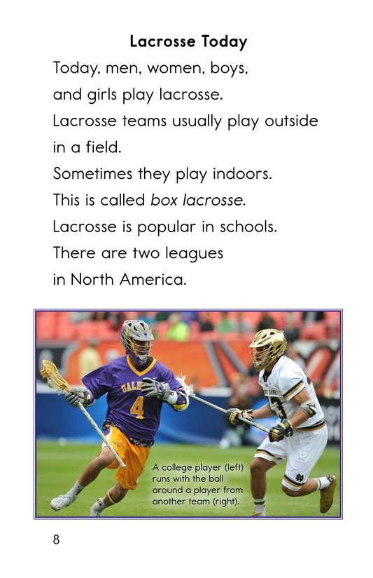 Book Preview For Lacrosse Page 8