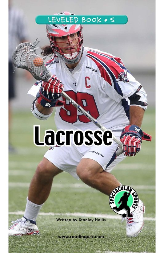 Book Preview For Lacrosse Page 0