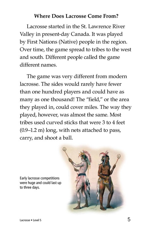 Book Preview For Lacrosse Page 5