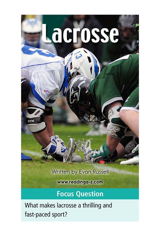 Book Preview For Lacrosse Page 1