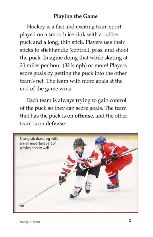 Book Preview For Hockey Page 9