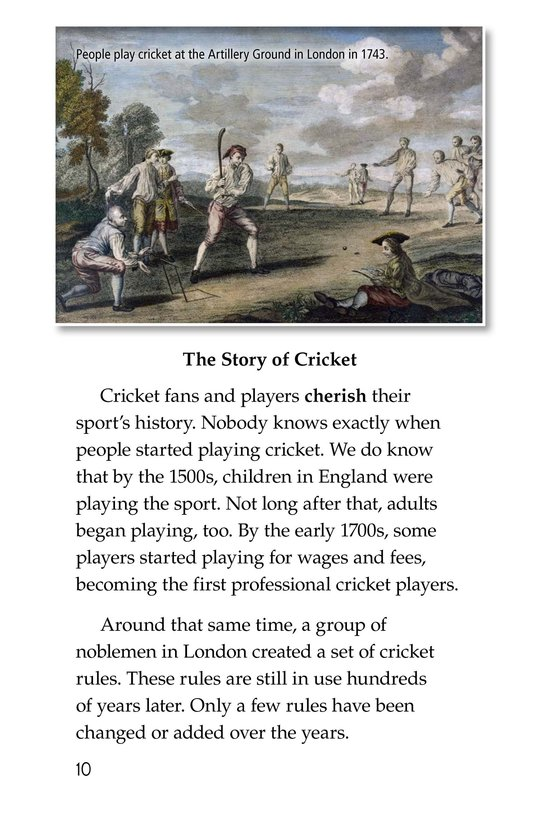 Book Preview For Cricket Page 10