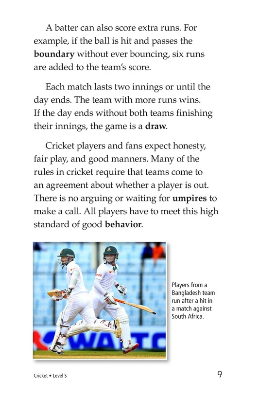 Book Preview For Cricket Page 9