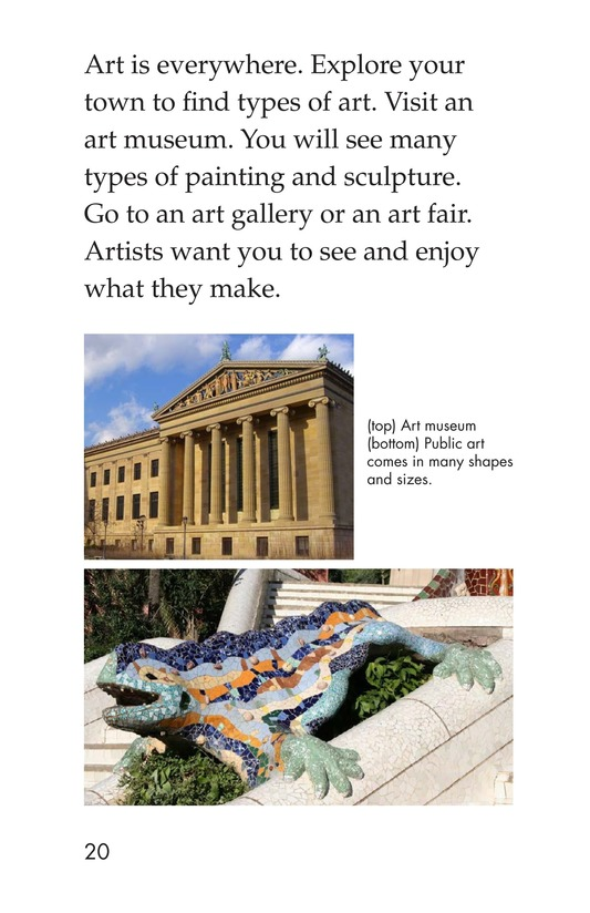 Book Preview For Art Around Us Page 20