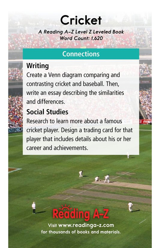 Book Preview For Cricket Page 17