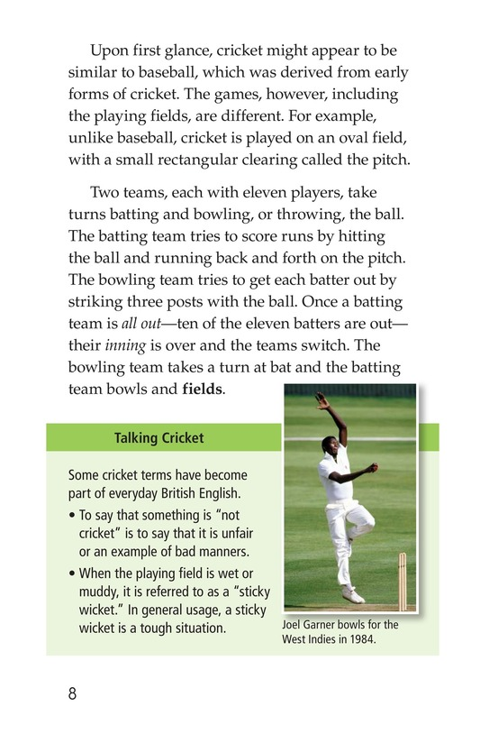 Book Preview For Cricket Page 8