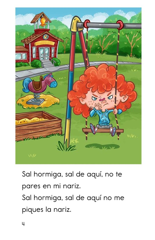 Book Preview For Una hormiguita chiquitita Page 4
