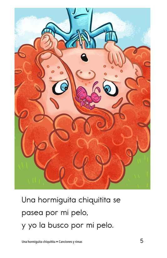 Book Preview For Una hormiguita chiquitita Page 5