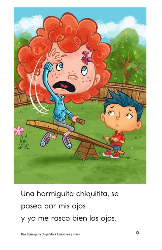 Book Preview For Una hormiguita chiquitita Page 9