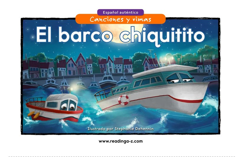 Book Preview For El barco chiquitito Page 1