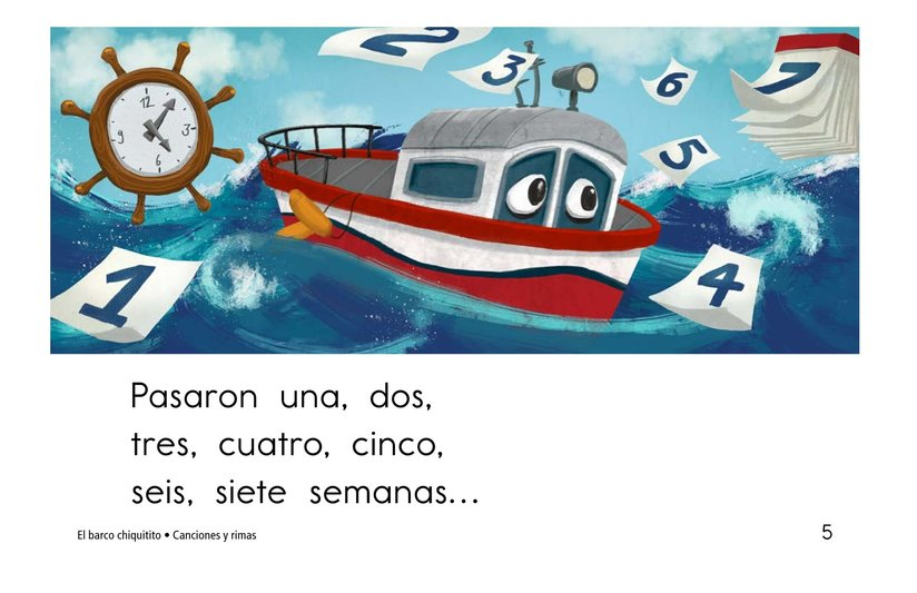 Book Preview For El barco chiquitito Page 5