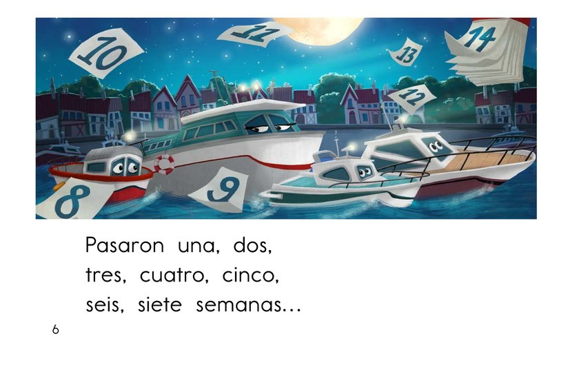 Book Preview For El barco chiquitito Page 6
