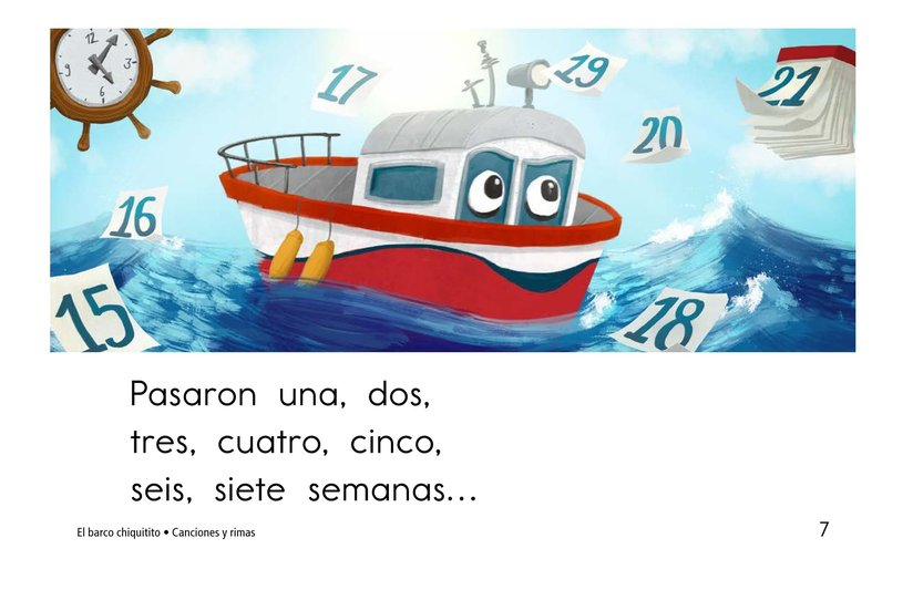Book Preview For El barco chiquitito Page 7