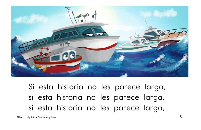 Book Preview For El barco chiquitito Page 9
