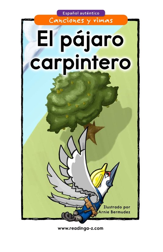 Book Preview For El pájaro carpintero Page 1