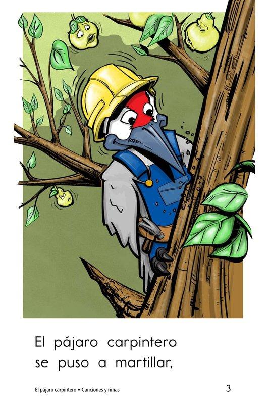 Book Preview For El pájaro carpintero Page 3