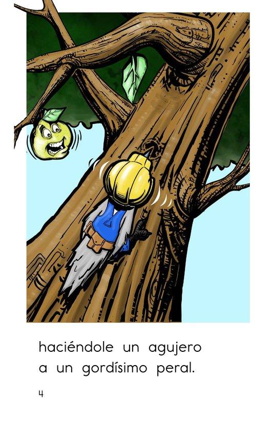 Book Preview For El pájaro carpintero Page 4