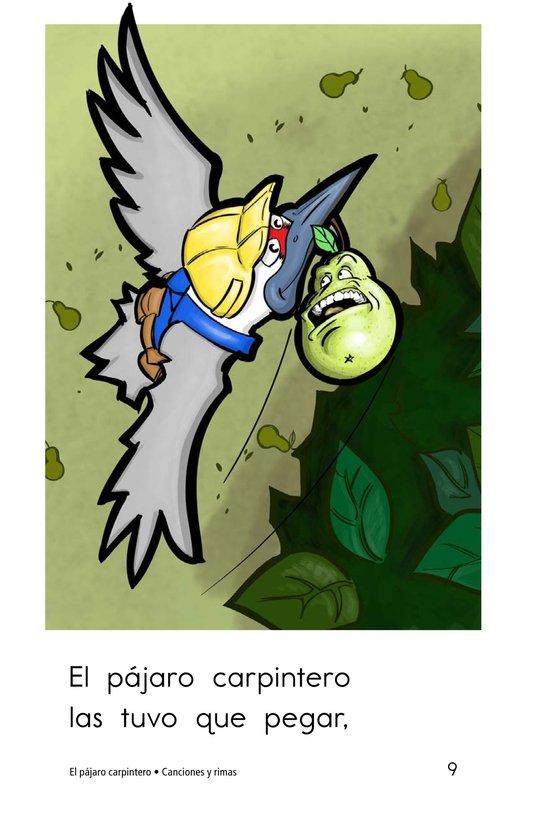 Book Preview For El pájaro carpintero Page 9