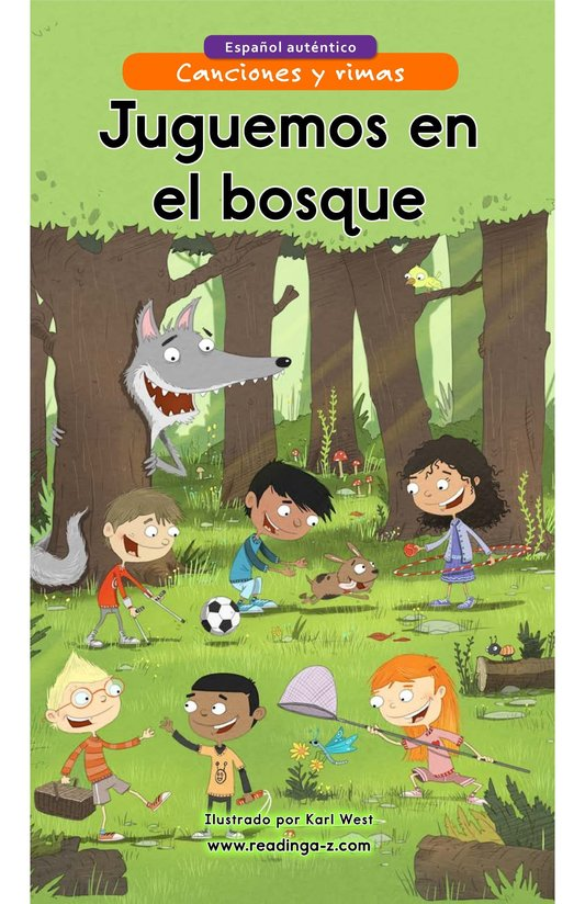 Book Preview For Juguemos en el bosque Page 1