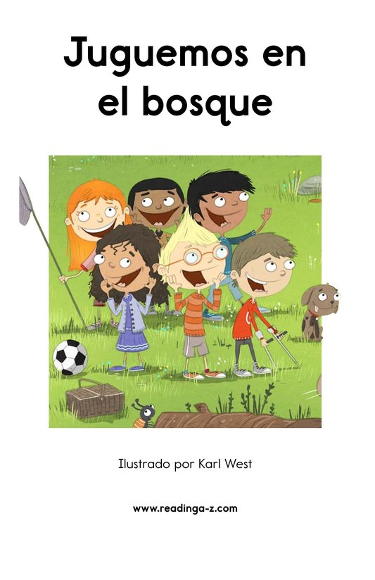 Book Preview For Juguemos en el bosque Page 2
