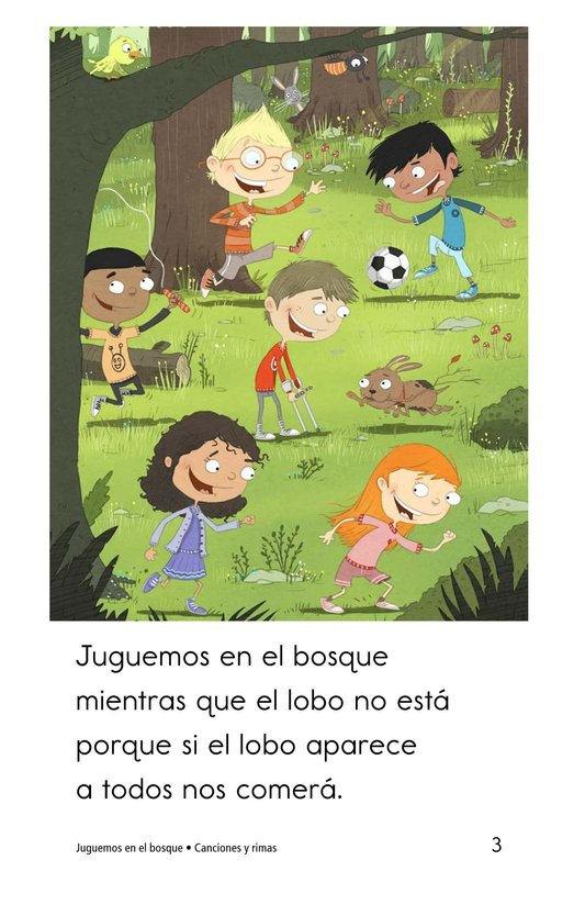 Book Preview For Juguemos en el bosque Page 3