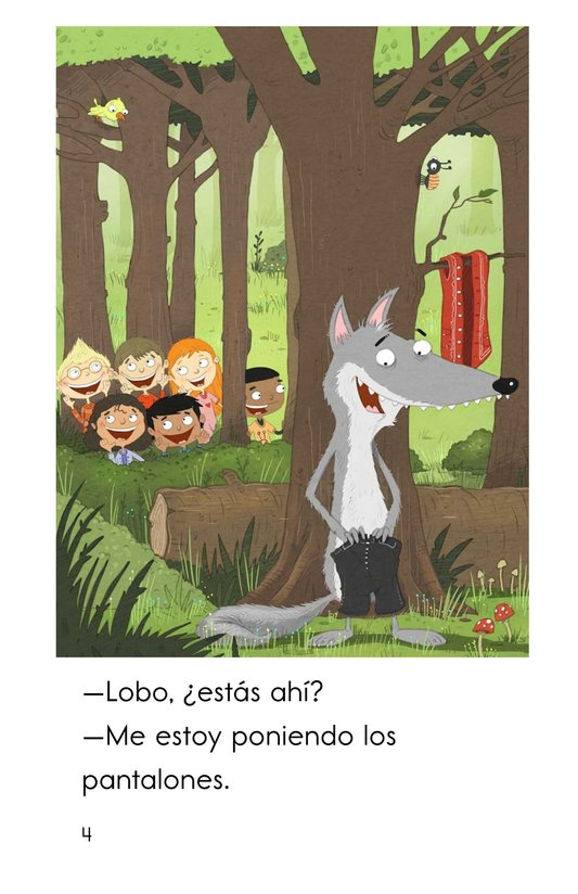 Book Preview For Juguemos en el bosque Page 4