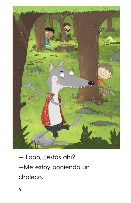 Book Preview For Juguemos en el bosque Page 6