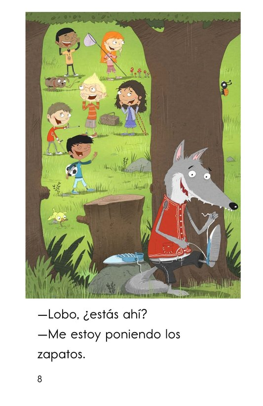 Book Preview For Juguemos en el bosque Page 8