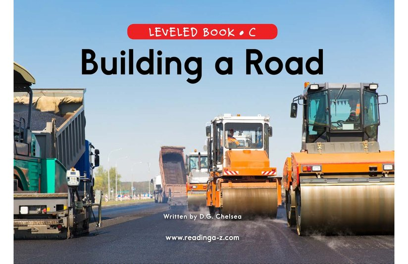 Book Preview For Building a Road Page 0