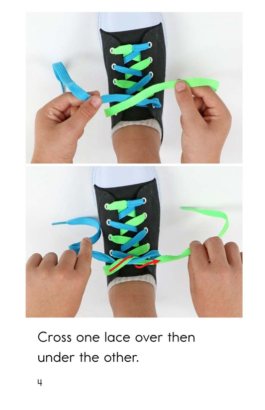 Book Preview For How to Tie Your Shoes Page 4