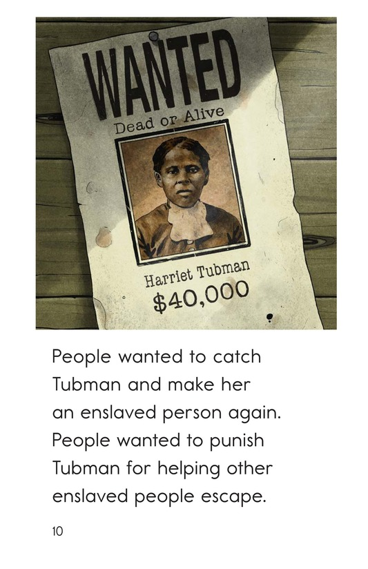 Book Preview For Harriet Tubman Page 10