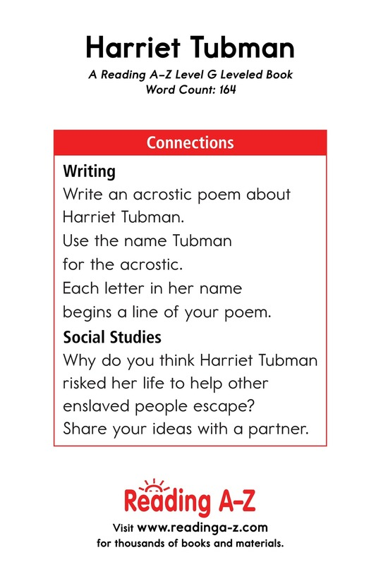 Book Preview For Harriet Tubman Page 13