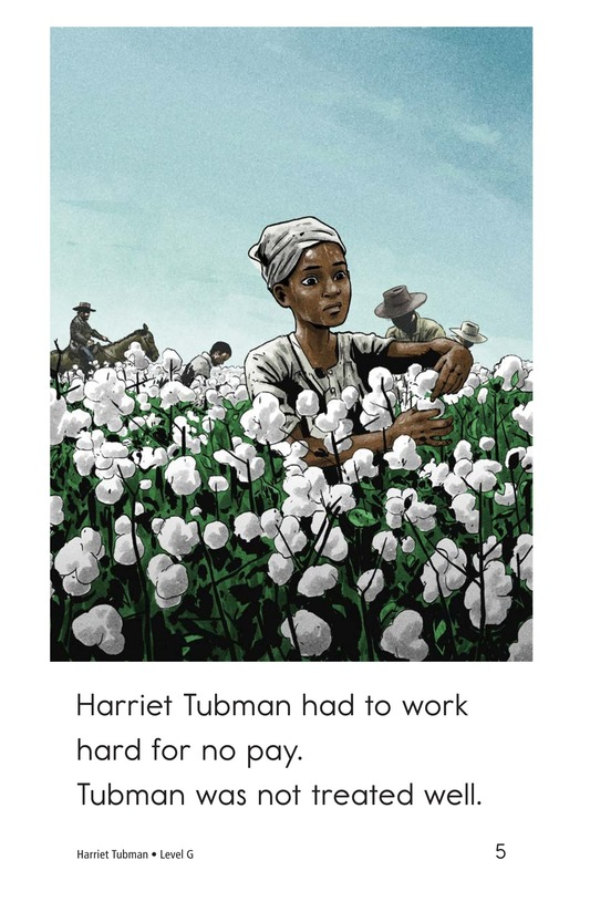 Book Preview For Harriet Tubman Page 5