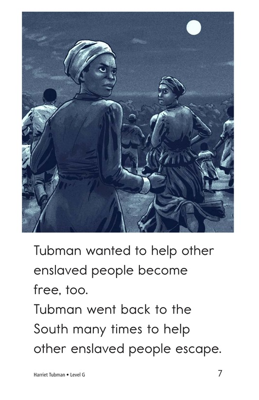 Book Preview For Harriet Tubman Page 7