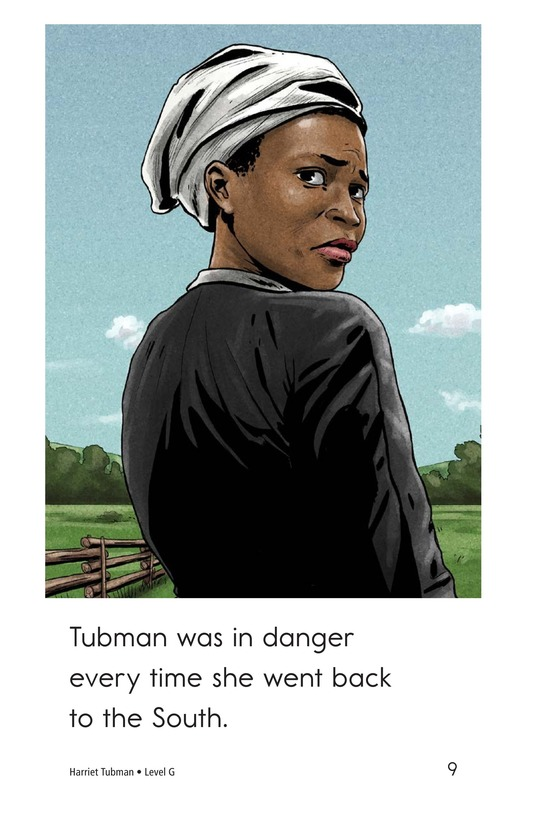 Book Preview For Harriet Tubman Page 9