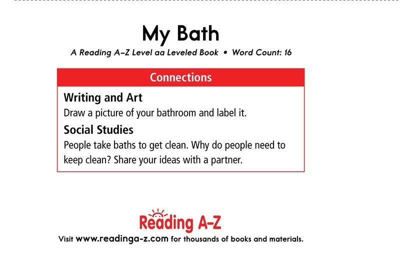 Book Preview For My Bath Page 11