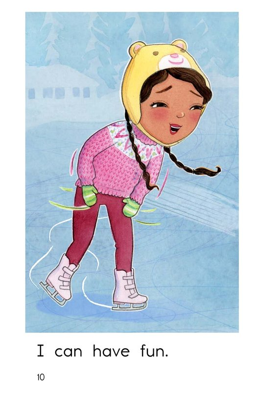 Book Preview For I Can Skate Page 10