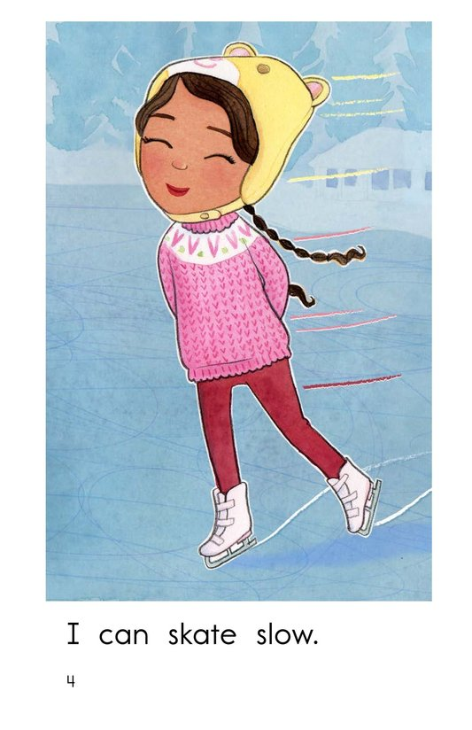Book Preview For I Can Skate Page 4