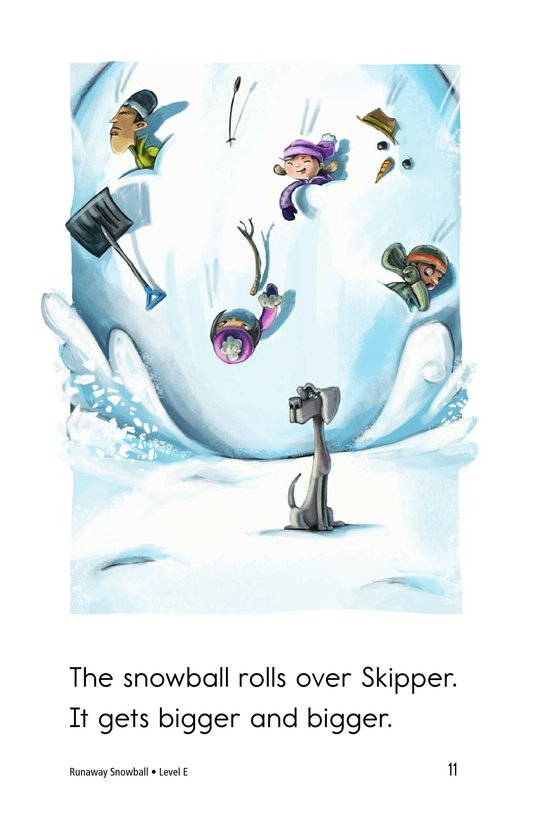 Book Preview For Runaway Snowball Page 11