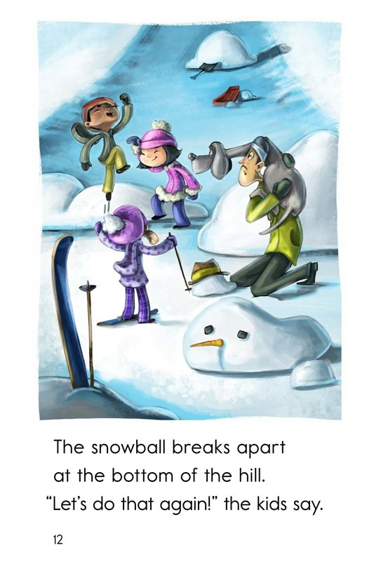 Book Preview For Runaway Snowball Page 12