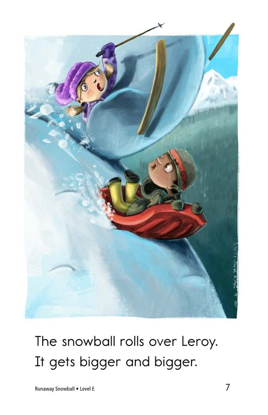 Book Preview For Runaway Snowball Page 7