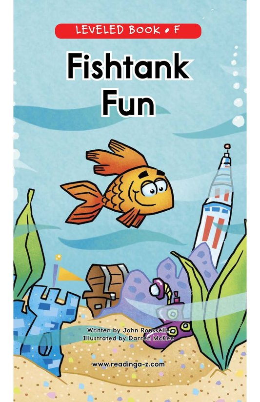 Book Preview For Fishtank Fun Page 0