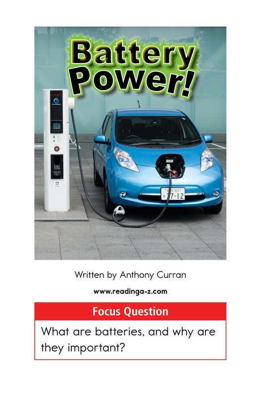 Book Preview For Battery Power! Page 1
