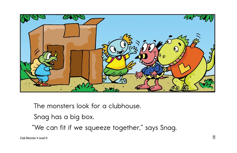 Book Preview For Club Monster Page 11
