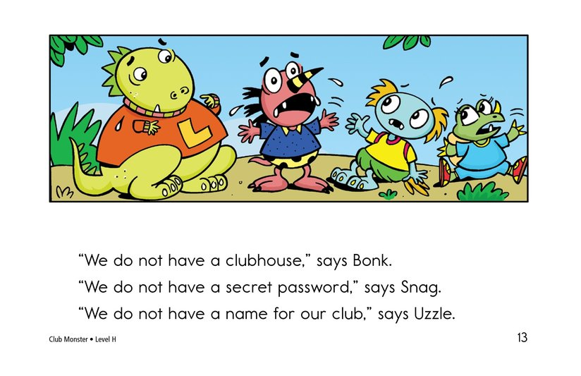 Book Preview For Club Monster Page 13