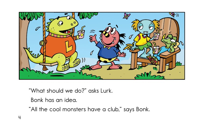 Book Preview For Club Monster Page 4