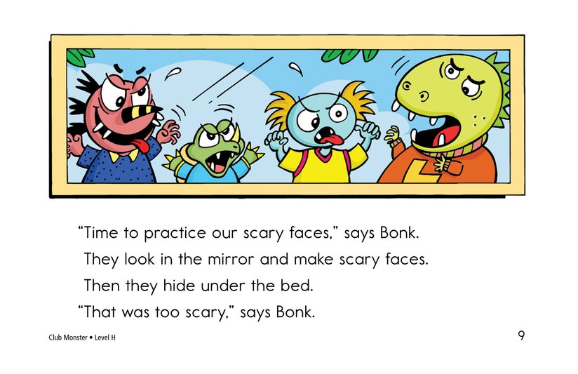 Book Preview For Club Monster Page 9